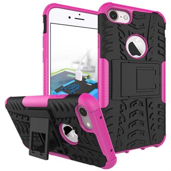 Image of   iphone 7/8 [Anti Scratch][Anti Shock]Self Stand TPU+PC 2 in 1 Magenta / under updatering